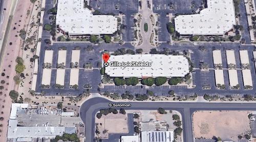 GillespieShields Mesa Location Map