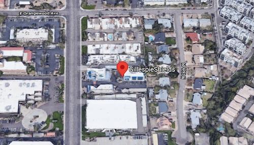 GillespieShields Phoenix Location